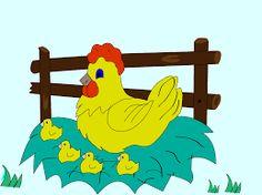 Resultado de imagen para imágenes animadas de gallinas