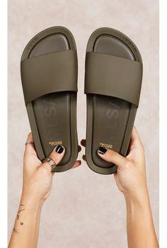 Melissa Beach Slide Verde Fashion Closet - fashioncloset-mobile