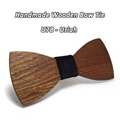 32a981e2b195 Mahoosive Wood Bow Tie Mens Wooden Bow Ties Gravatas Corbatas Business  Butterfly Cravat Party Ties For