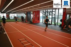 Decoflex Indoor Sprint Fitness Running Track @ Pure Fitness, Singapore