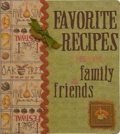Homemade Recipe Book