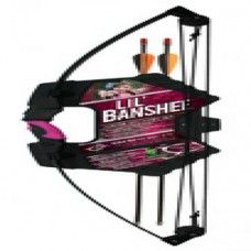 Pink Archery Set - The Lil Banshee Jr. Pink Archery Set exposes your daughter to the joy of archery in a fun yet safe way. The set features an compound bow with. Kids Archery Set, Types Of Bows, Archery Supplies, Birthday Wishlist, Kids Furniture, Outfit, Cool Things To Buy, Sports, Pink