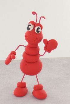 Free step-by-step tutorial: Sculpey III Ant