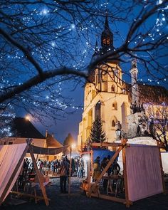 "Páči sa mi to: 1,941, komentáre: 9 – SLOVAKIA | #ThisIsSlovakia 🇸🇰 (@thisisslovakia) na Instagrame: ""Christmas market in Trnava 🎄🎅🏻🌟 Photo by @matus.koprda #ThisIsSlovakia 🇸🇰"" Christmas, Xmas, Navidad, Noel, Natal, Kerst"