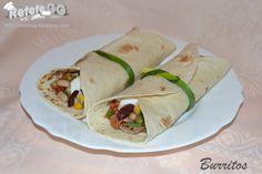 Burritos, Guacamole, Tacos, Cooking, Ethnic Recipes, Food, Breakfast Burritos, Kitchen, Eten