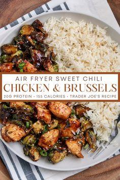 Healthy Meal Prep, Healthy Chili, Healthy Eating, Healthy Dishes, Healthy Chicken Recipes, Healthy Cooking, Healthy Dinner Recipes, Air Fryer Dinner Recipes, Air Fryer Recipes Easy