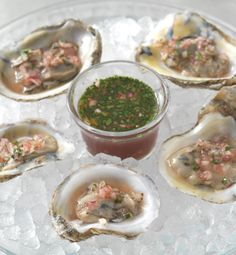 Learn how to create an elegant appetizer with this easy mignonette sauce.