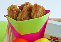 Chick-en Nuggets Recipe (Use Aquafaba for egg sub)/ Healthy Ideas for Kids Super Healthy Kids, Healthy Meals For Kids, Kids Meals, Healthy Snacks, Healthy Eating, Eating Clean, Baby Food Recipes, Whole Food Recipes, Cooking Recipes