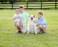 Brothers and Family Dog