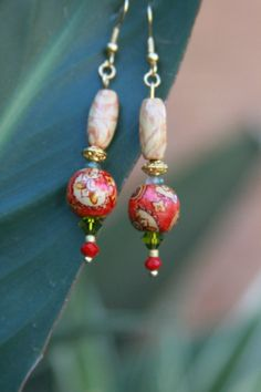 Valentine's giftJewelry earrings Pierced by DesignsnBoutiqueBB, $25.00