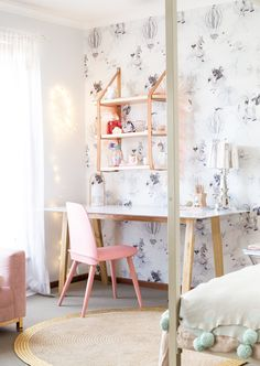 Holly's Bedroom Update | @petiteinterior