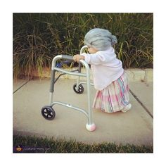 Little Old Lady Costume ❤ liked on Polyvore featuring costumes, instagram, baby, kids, photos, random, ladies costumes, womens costumes, lady halloween costumes and lady costumes