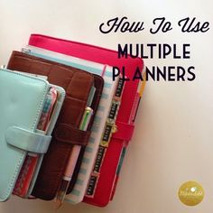 MsWenduhh Planning & Printing: How To Use Multiple Planners