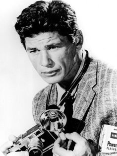 Charles Bronson: Charles Dennis Buchinsky (November 1921 – August born with a Leica Leica, Celebrity Photographers, Famous Photographers, Old Cameras, Vintage Cameras, Nikon Cameras, Actor Charles Bronson, Classic Camera, Vintage Tv
