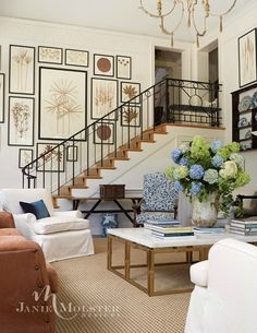 House Tour: Southern Charmer from Jane Molster Designs (gallery wall Decor, Living Room Drapes, Rustic Living Room, Family Room, Living Room Designs, Living Decor, Living Room Decor, House Interior, Room Decor