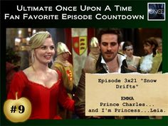 At #9 in our #OnceUponATime countdown is the first part of the Season Three Finale, Snow Drifts.
