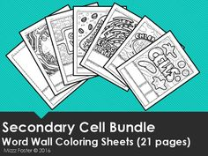 Scientific Investigation Word Wall Coloring Sheets pages) Elementary Science, Middle School Science, Science Classroom, Coloring Sheets, Coloring Pages, Adult Coloring, Coloring Books, Science Cells, Science Worksheets