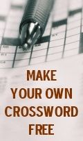 Make Your Own Crossword Free - has many body related puzzles premade