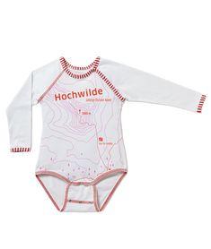 Die HOCHWILDE-zeigt wo's lang geht! Bio Babywäsche von EIN SCHÖNER FLECK ERDE. Sustainable Fashion, Onesies, Babies, Clothes, Earth, Kids, Women's, Nice Asses, Outfits