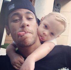 "Neymar Sweet Selfie with his son: Brazilian superstar Neymar - Sweet Selfie with his son Awww! To this end, he wrote, ""Dad I missed"" Neymar is now Brazil's"