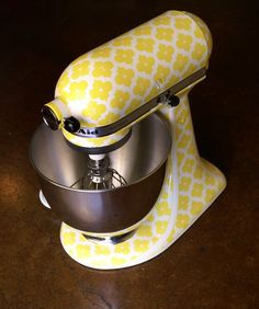 Custom kitchen aid mixers by Nicole Dinardo