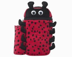 Ladybug Backpack and Bottle 19668