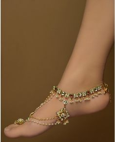 anklet - adorable!