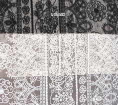 Dolce Vita Craft Decoration Lace Fabric SINGLE by LaceFabrics