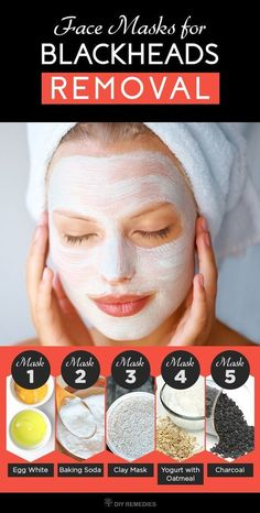 5 Best Face Masks for Blackheads Removal. Blackheads occurs most commonly on the face, especially on the nose. Though these are not harmful, they might lead. Diy Face Mask For Blackheads Face Mask For Blackheads, Acne Face Mask, Best Face Mask, Diy Face Mask, Face Face, Acne Skin, Homemade Facial Mask, Homemade Facials, Blackhead Mask