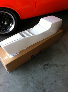 New 2nd generation Camaro firebird center console from MCI - modern classic interiors fiberglass gelcoat interior custom