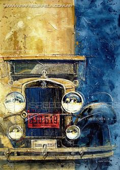 Old Chevrolet - Fine art print by Rafael Varela