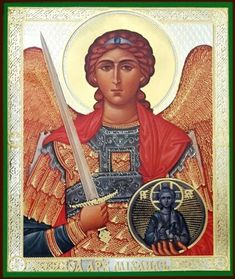 Archangel Michael, Orthodox Christian Icon - at Holy Trinity Store Religious Icons, Religious Gifts, Religious Art, St. Michael, Michael Angel, Archangel Prayers, Angels Touch, Defender Of The Faith, Russian Icons