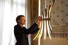Потрясающие лампы от дизайнера Laura Modoni
