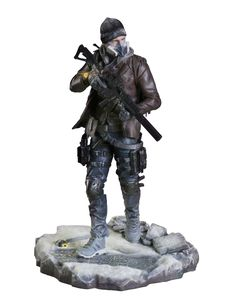 """Ubicollectibles presents a new creation from the game ´Tom Clancy's The Division´: """"SHD Agent"""".The PVC statue stands approx"""