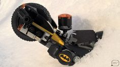 As it snowed, the road was covered with snow and ice. #Batman with #Flash were speeding insanely. Suddenly, Batman's cycle slided, but he tried to balance it, however unsuccesfully, therefore he piked with his vehicle into snow pile.