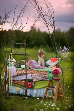 Children photography | Styled photography session ideas | princess and the pea | Leslie Meadow Photography | Daily Fan Favorite | Beyond the Wanderlust | Inspirational Photography Blog