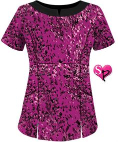 U625GRA 	  UA Best Buy Scrubs Galaxy Raspberry Round Neck Top $15.99 http://www.uniformadvantage.com/pages/prod/galaxy-raspberry-scrub-top.asp?navbar=2