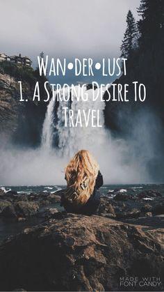 Wanderlust theme.