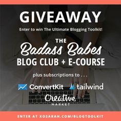 Win the Ultimate Blogging Toolkit – it's everything you need to boost your traffic, subscribers and social media! http://itz-my.com