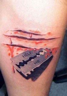razor_blade_with_blood_3d_tattoo