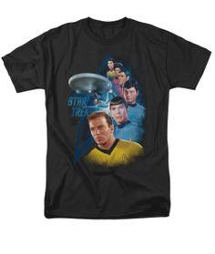 star-trek-t-shirt-among-the-stars-black Star Trek Shirt, Stars, Mens Tops, T Shirt, Black, Products, Tee Shirt, Black People, Sterne