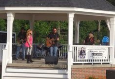 The Mychael David Project performed a couple hours of great country music before a large crowd at this week's installment of the Northborough Summer Concert Series.