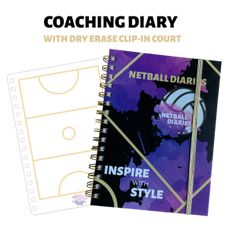 Shop - Netball Diaries Netball Court Dimensions, Pocket Notebook, Training Plan, Virtual Assistant, Diaries, All About Time, Coaching, Encouragement