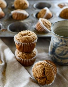 The perfect holiday breakfast | gingerbread muffins I howsweeteats.com