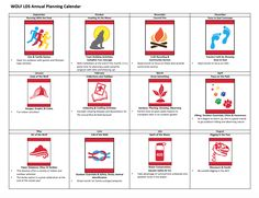 sample planning calendar Wolf annual planning calendar for LDS or year-round packs . Wolf Ranks, Cub Scouts Wolf, Cub Scout Activities, Wolf Den, Scout Mom, Planning Calendar, Girl Scout Juniors, Scouts Of America, Scout Leader