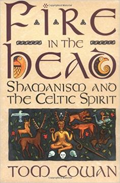Fire in the Head: Shamanism and the Celtic Spirit by Tom Cowan. one of my most favourite books on Celtic Shamanism. Magick Book, Witchcraft Books, Occult Books, Wiccan Books, Books To Read, My Books, Celtic Druids, Book Of Shadows, Nonfiction Books