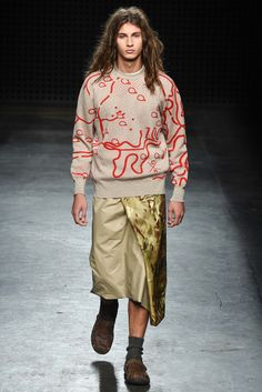 That sweater! Christopher Raeburn Spring 2016 Menswear - Collection - Gallery - Style.com