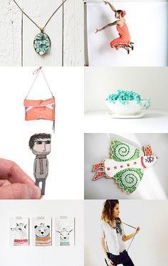Summer Joy by Olesya Bukhaleva on Etsy--Pinned with TreasuryPin.com