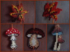 Herbst Autumn hama beads