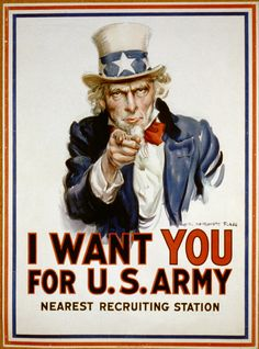 us army images public domain | Public Domain Recruitment Poster: I Want You for the US Army - Uncle ...